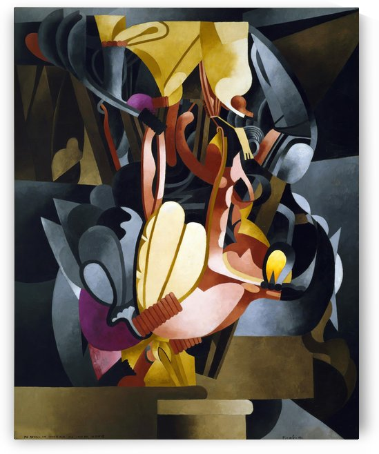 I See Again in Memory My Dear Udnie by Francis Picabia