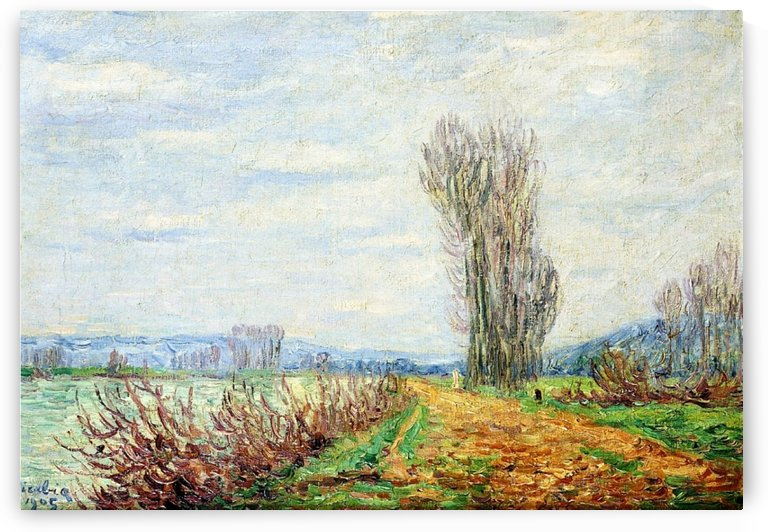 Morning Effect, Bank of the Yonne by Francis Picabia
