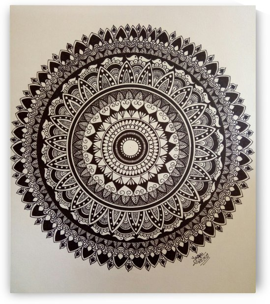 Detailed Mandala by Yuga