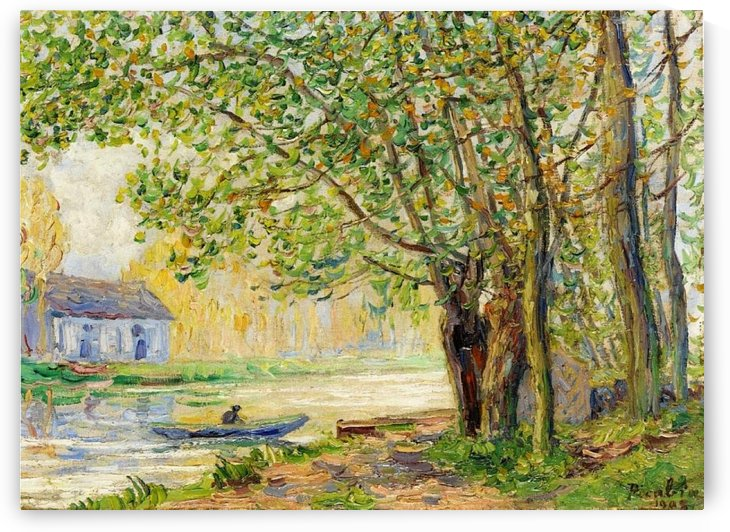 Moret-sur-Loing by Francis Picabia