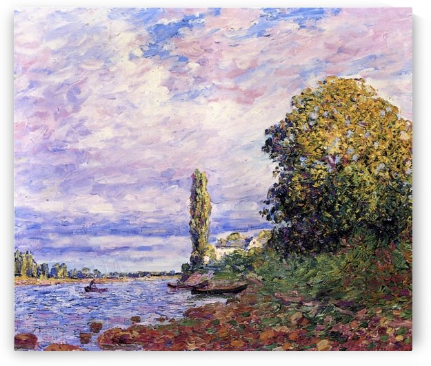 Banks of the Loing by Francis Picabia
