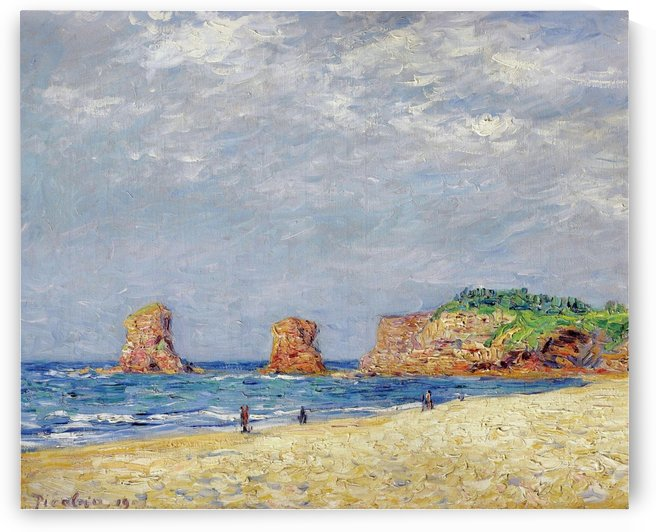 Twin Rocks at Hendaye by Francis Picabia