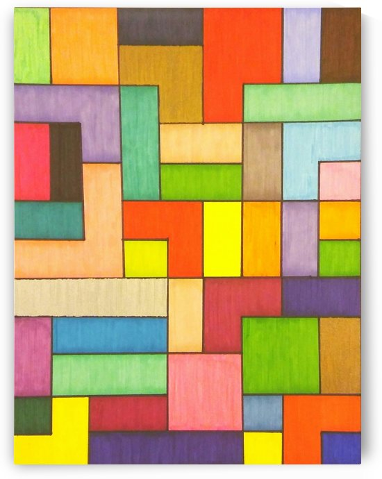 Colored Blocks by SarahJo Hawes
