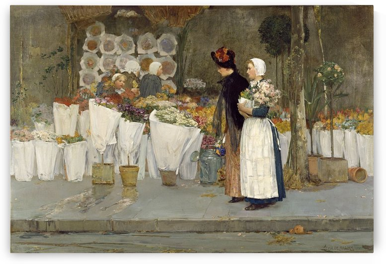 Grocery Store, Phoenecia by Frederick Childe Hassam