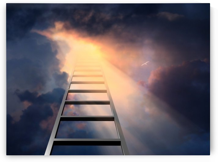 Stairway to Heaven by Bruce Rolff