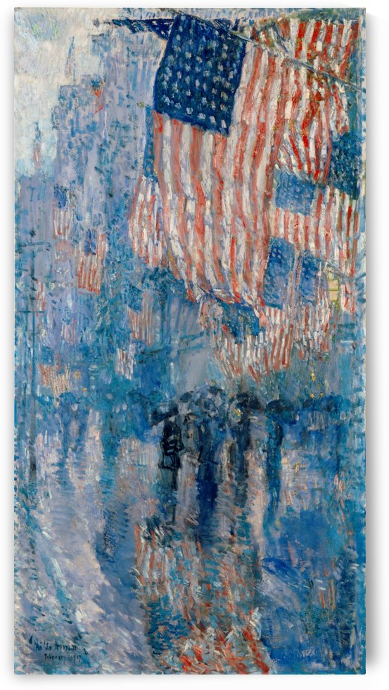 Newburgh, New York by Frederick Childe Hassam