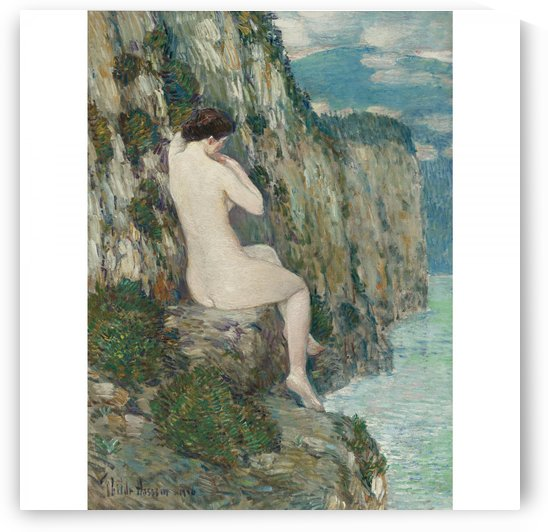 Nude, Isle of Shoals by Frederick Childe Hassam