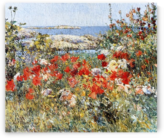 Flower Garden, Isles of Shoals by Frederick Childe Hassam