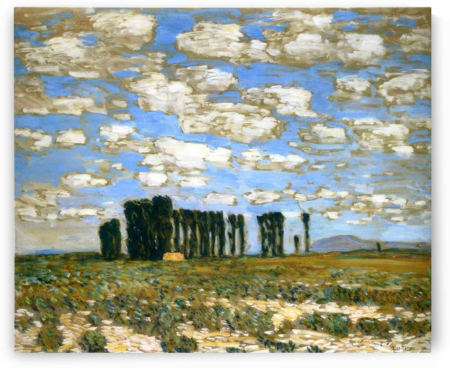 Harney Desert by Frederick Childe Hassam