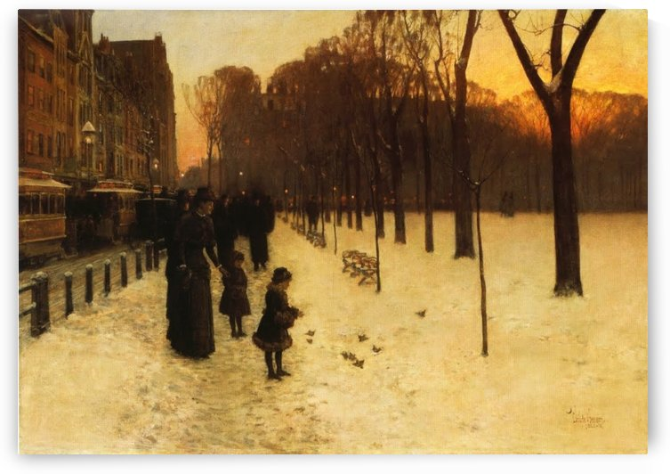 Twilight after Rain by Frederick Childe Hassam
