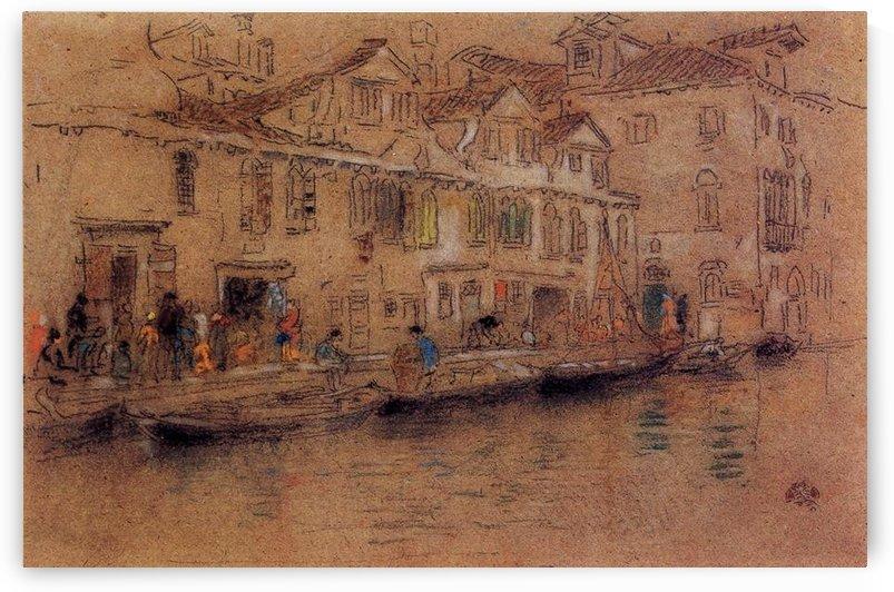 Fondamenta dei Mori by Whistler by Whistler
