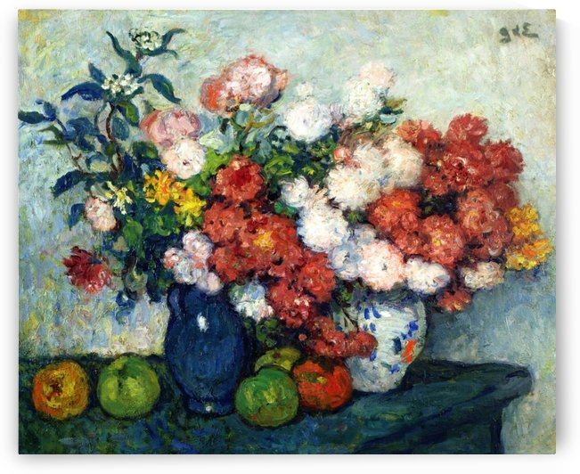 Still Life with Flowers,1898 by Georges dEspagnat