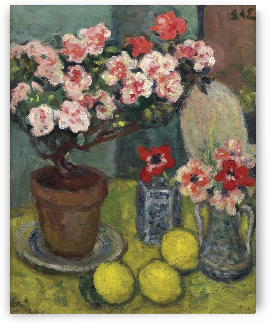 Still Life with Three Lemons by Georges dEspagnat