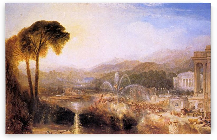 Fountain of indolence by Joseph Mallord Turner by Joseph Mallord Turner