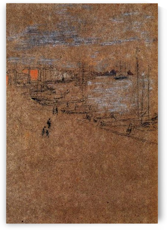 From the Cafe Orientale by Whistler by Whistler