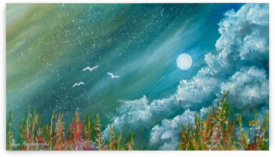 Full Moon by Faye Anastasopoulou