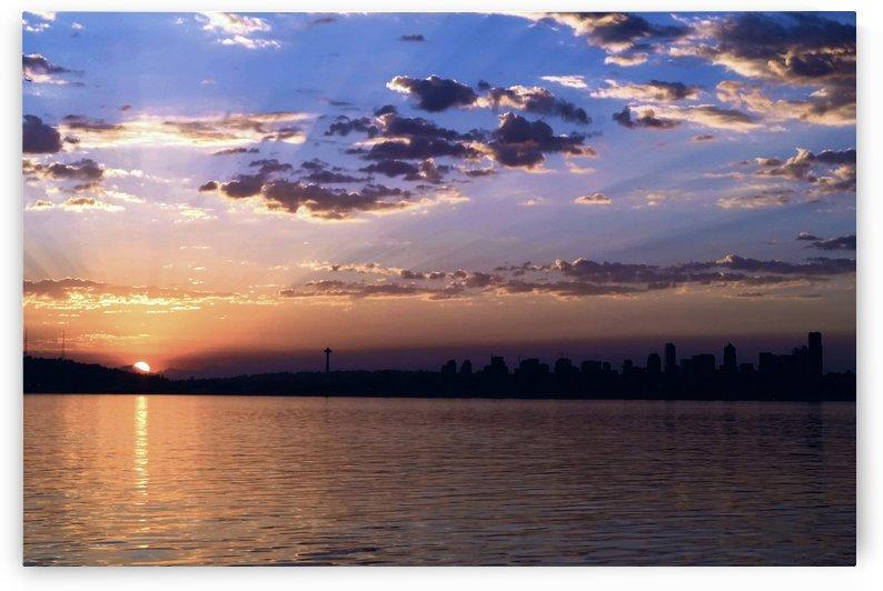 Puget Sound Sunrise by Chris Kadin