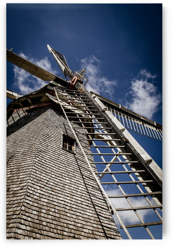 Old Windmill by Wagner Spirigoni