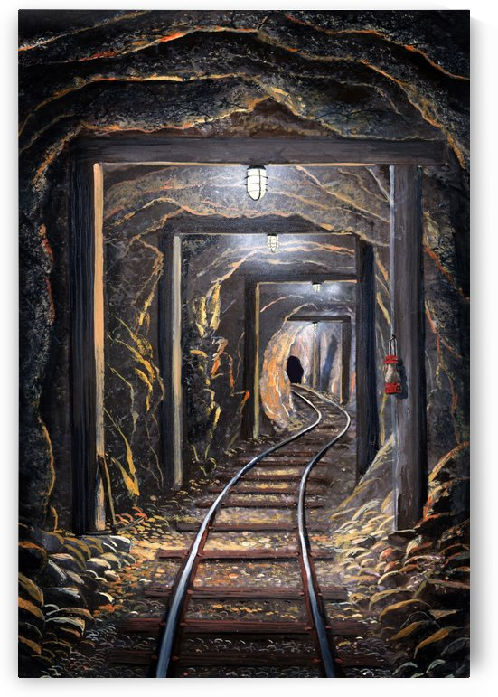 Mine Shaft  by Frank Wilson