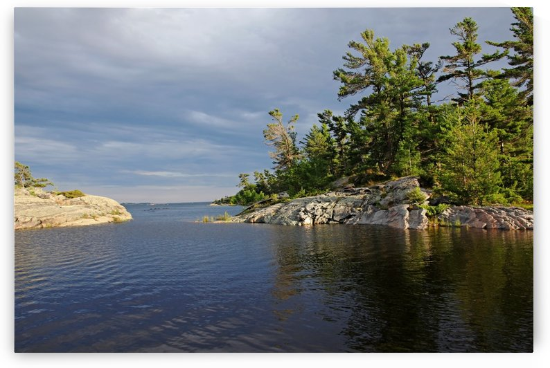 Between Rocky Outcrops To Georgian Bay by Deb Oppermann