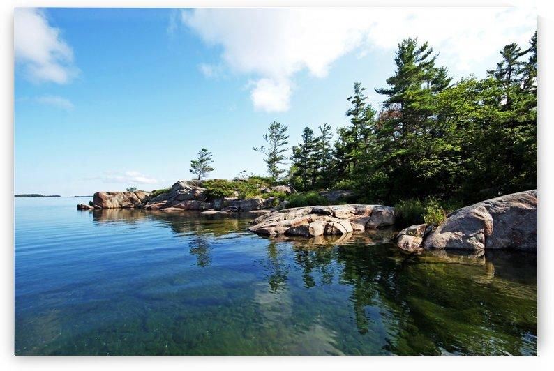 Franklin Island Shallows by Deb Oppermann