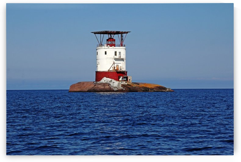 Red Rock Lighthouse I by Deb Oppermann