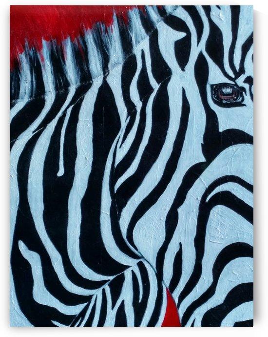 Zebra by Joesette Castaneda Case
