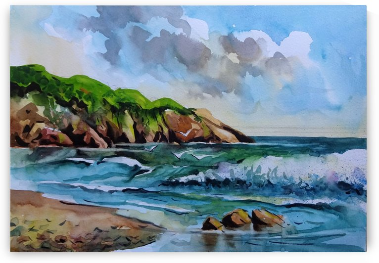 Seascape 13 2017 by Sumit Datta