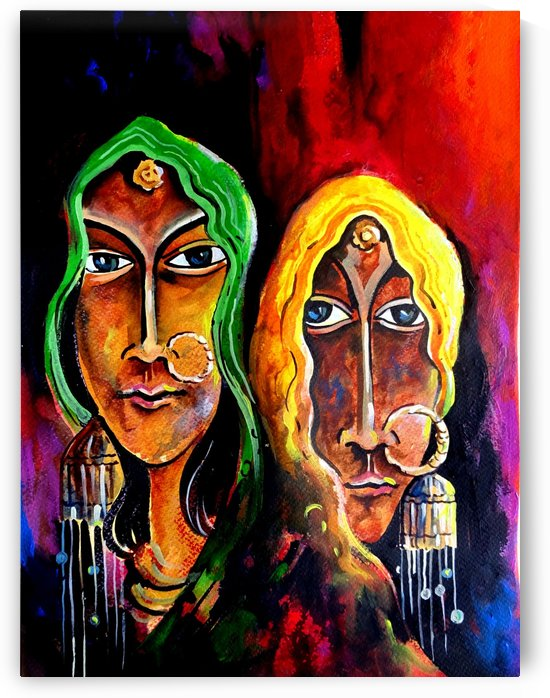Abstract Figurative 2 2018 by Sumit Datta
