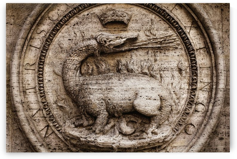 A Roman Dragon by Ira Silence