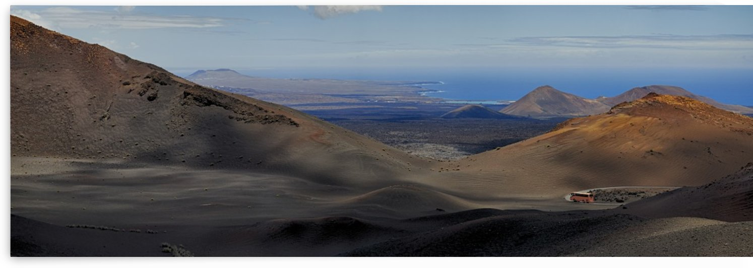 Timanfaya National Park Lanzarote by Adrian Brockwell