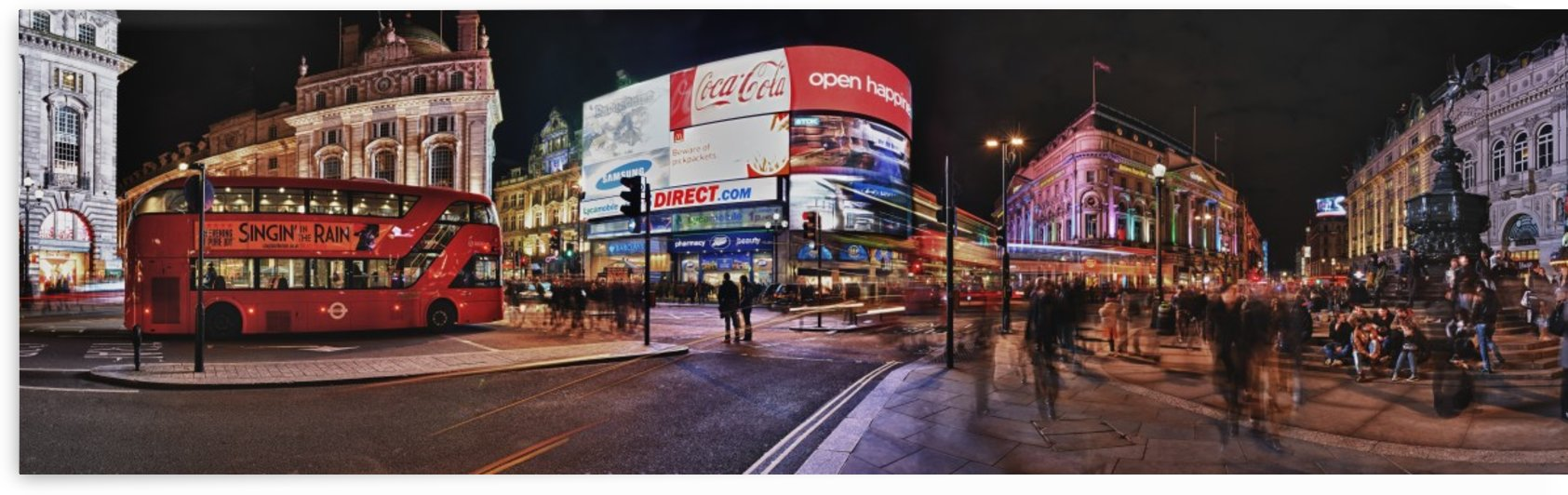 Piccadilly Circus by Adrian Brockwell