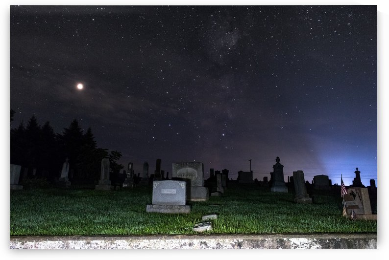 Woodward Cemetary by Heather Scully