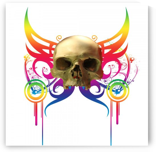 Vampire Skull by Matthew Lacey