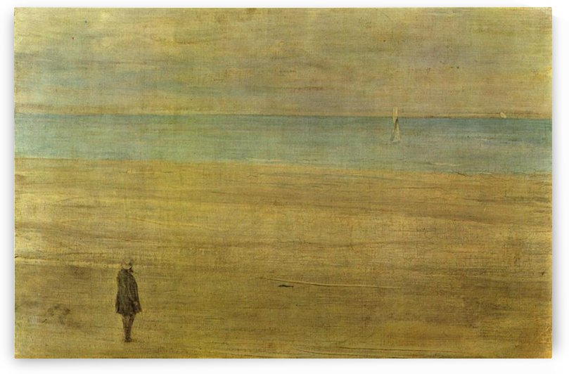 Harmony in blue and silver Trouville by Whistler by Whistler