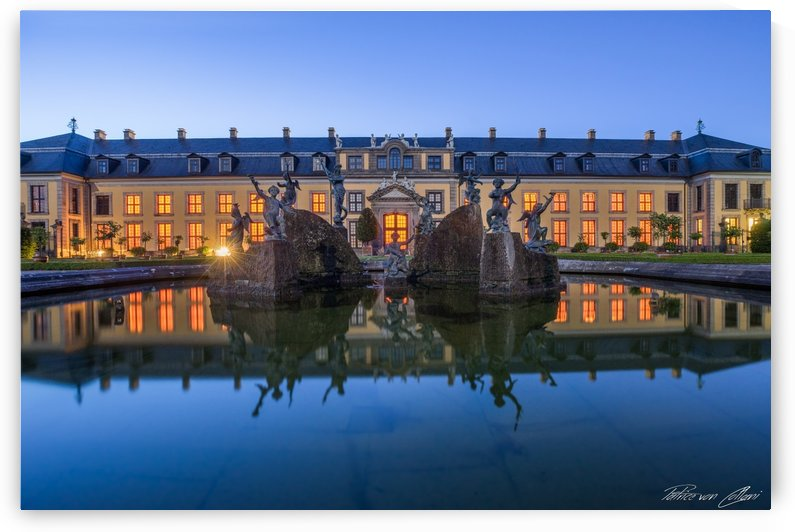 Neptun Fountain & Gallery Royal Gardens of Herrenhausen by Patrice von Collani