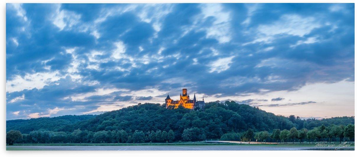 Castle Marienburg Panorama by Patrice von Collani