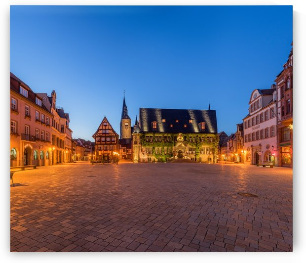 Quedlinburg Market Square Town Hall by Patrice von Collani