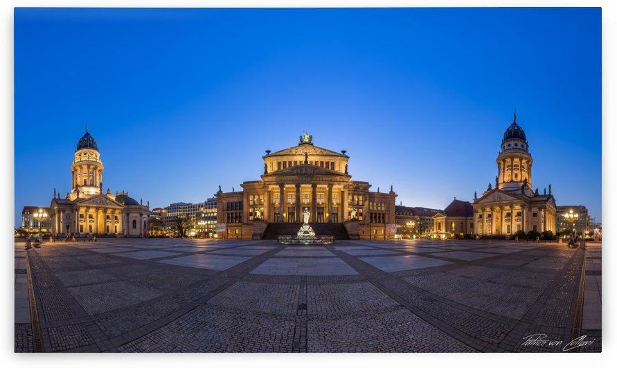 Gendarmenmarkt Berlin Panorama by Patrice von Collani