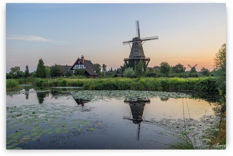 Mill Evening by Patrice von Collani