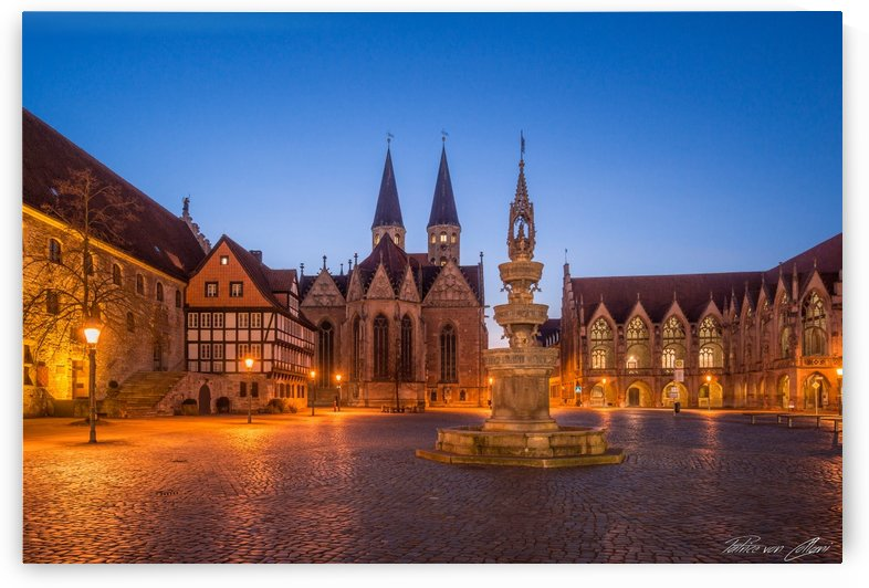 Altstadtmarkt Brunswick by Patrice von Collani