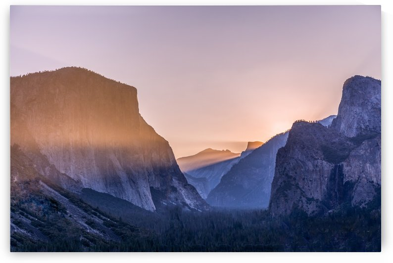 Yosemite Valley Pink by Noah E Geist