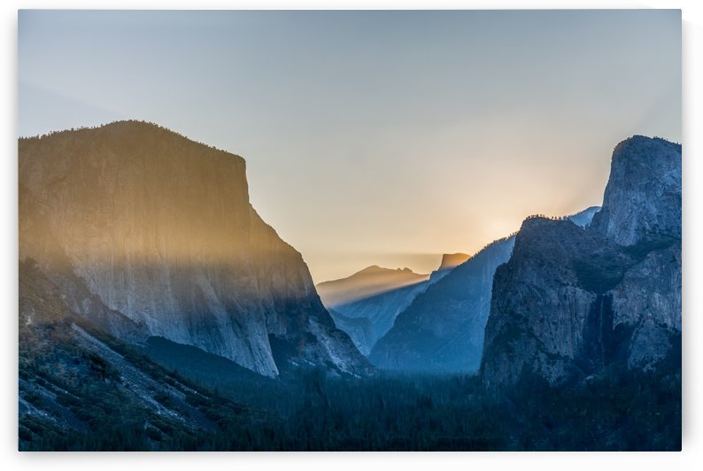 Yosemite Valley by Noah E Geist