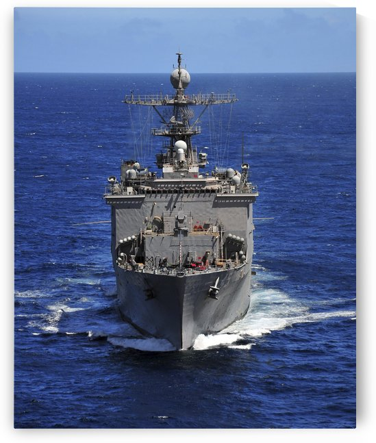 USS Comstock transits the Indian Ocean. by StocktrekImages