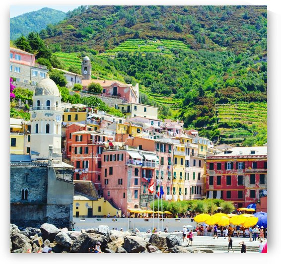 Colorful village of Cinque Terre by Verstapost