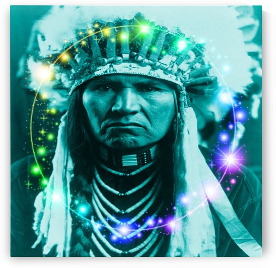 Magical Indian Chief by Matthew Lacey