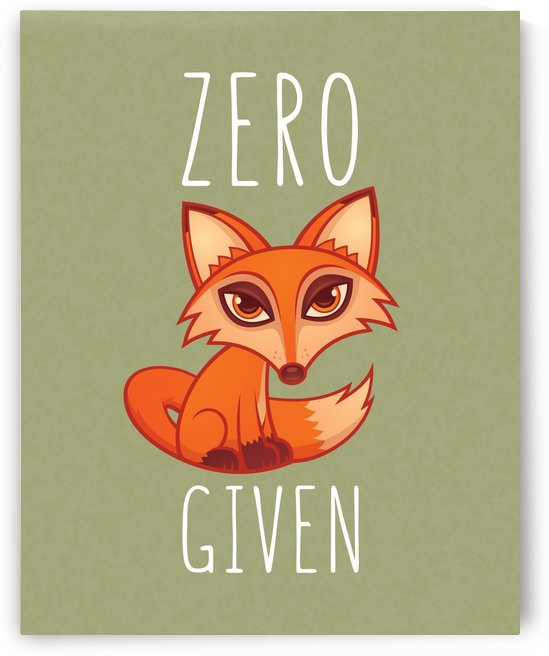 Zero Fox Given by fizzgig
