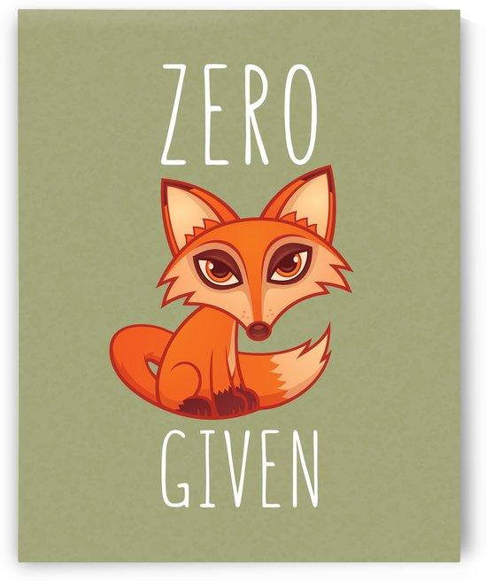 Zero Fox Given by fizzgig