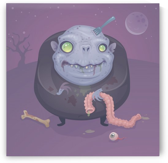 Blob Zombie by fizzgig