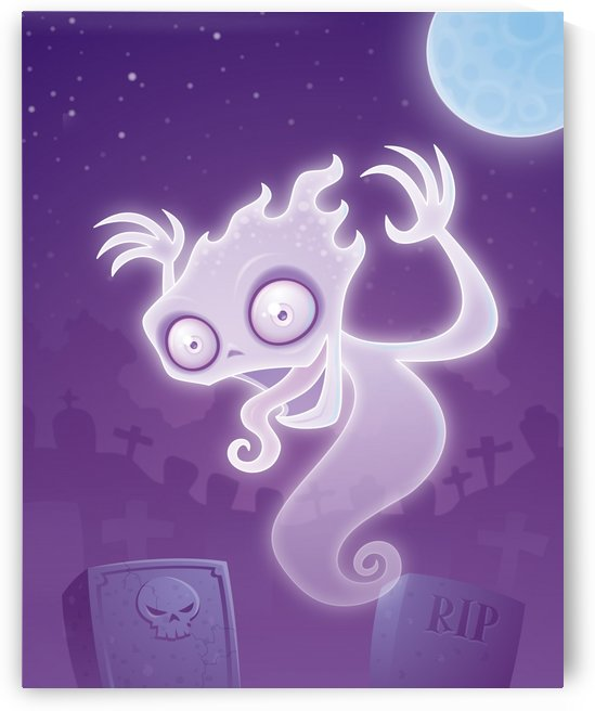 Ghost in the Graveyard by fizzgig